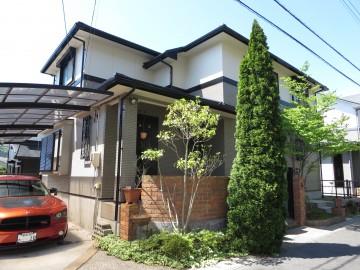 豊川市長沢町で外壁塗装、屋根葺き替え